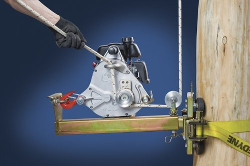 Vertical Pull Winch Support