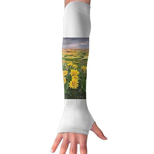 Palouse Sunset Washington State Cooling Arm Sleeves Unisex Sun Block UV Protection International Fashion (Washington Dc Gift Basket)