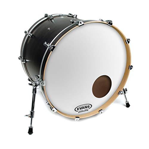 Evans EQ3 Resonant Smooth White Bass Drum Head, 22 (Best Music Treasures Drum Sets)