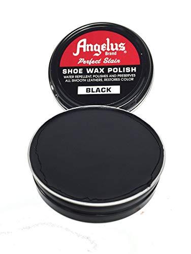 - Angelus Shoe Wax Polish 3fl Oz (Color Variety) (Black)