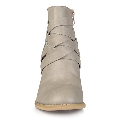 Boot Stone Buckle Women's Brinley Co Ankle fIW8O84A