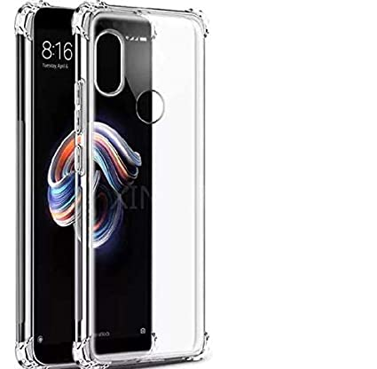 online store bac2c ba305 X wox™ Back Case Cover for Xiaomi Redmi 6 Pro(2018) | Xiaomi 6 Pro |6 Pro |  Mi 6 Pro | Redmi 6 Pro Transparent Corner Protection Bumper Cover