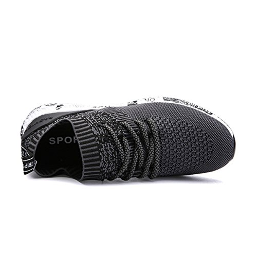 Anti Course Hommes Noir Running Lgres Lace Sport Gym Outdoor Plates Gracosy De slip Casual Baskets Fitness Sneakers Mode Unisexe Respirantes Pour Chaussures Up cBxqgZWgE
