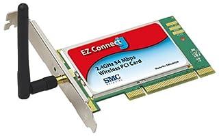 SMC Networks SMC2802W EZ Connect g Wireless PCI Card (54 Mbps) (B00008V9EU) | Amazon price tracker / tracking, Amazon price history charts, Amazon price watches, Amazon price drop alerts