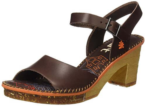 Para Vachetta amsterdam Brown Tobillo Con Correa De Marrón Brown Art 0325 Mujer Mojave Sandalias brown q1Evva