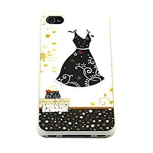 3D Changeable Cartoon One-piece Dress Hard Case for iPhone 4/4S