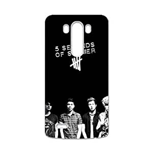 5 Seconds Of Summer Brand New And Custom Hard Case Cover Protector For LG G3 by runtopwell
