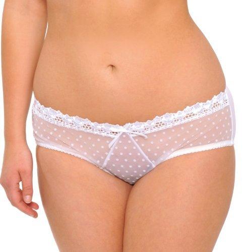 Curvy Kate CK6003 - Braguita de manga corta para mujer blanco