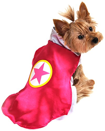 Anit Accessories AP1092-XL Superhero Dog Costume, Pink
