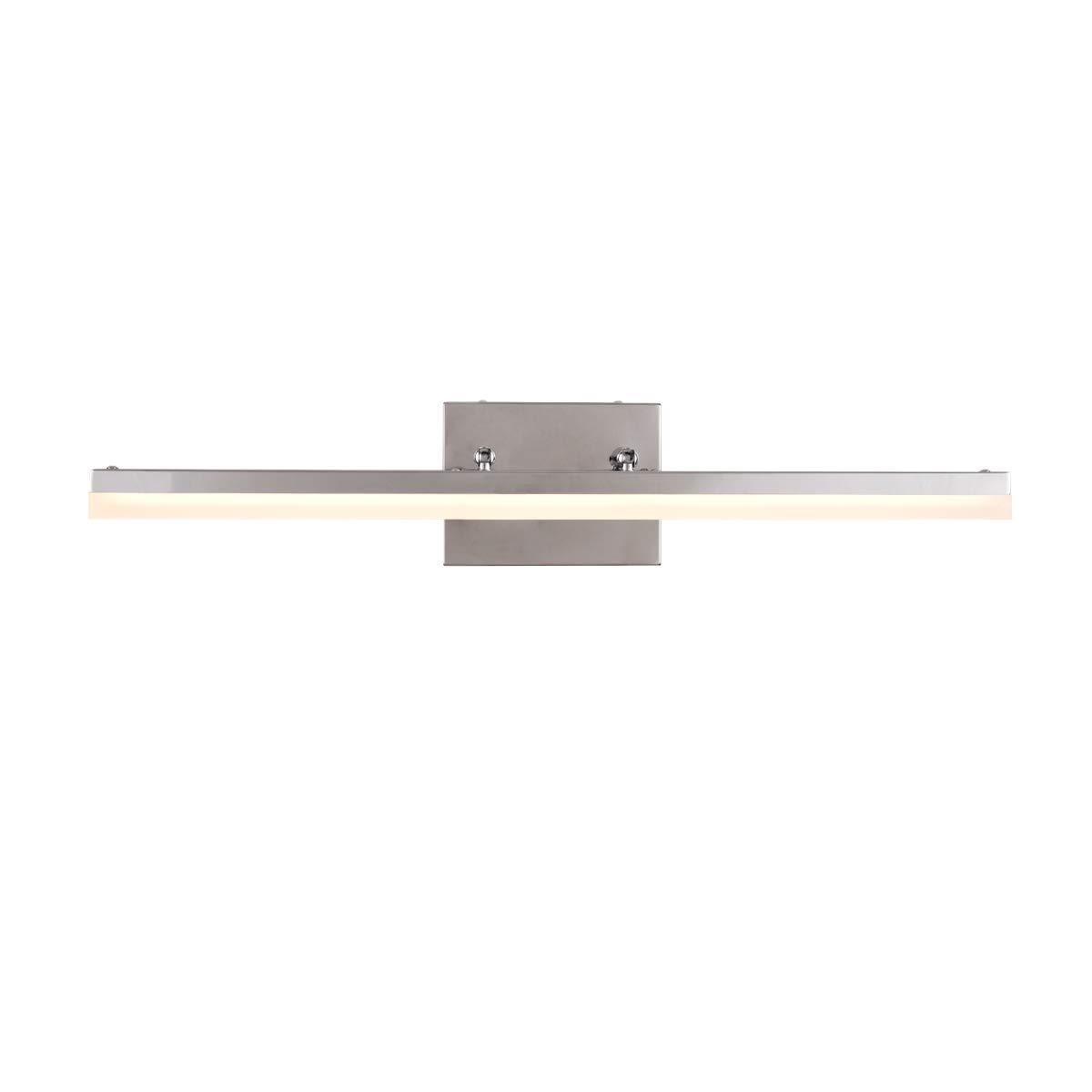 mirrea 24in Modern LED Vanity Light for Bathroom Lighting Dimmable 24w Warm White