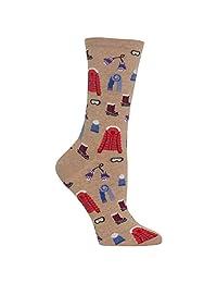 Hot Sox Women's Ski Clothes Crew Sock