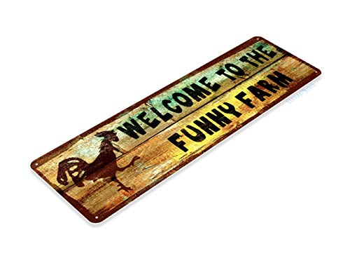 34 Funny Farm Welcome Cottage Rustic Farm Humor Decor ()