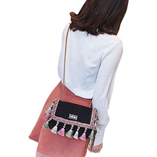 Noir à Sac pour à porter femme Wanfor 3TT600492 l'épaule wp8g4qfH