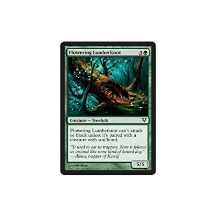 Amazon.com: Magic: the Gathering - Flowering Lumberknot (178 ...
