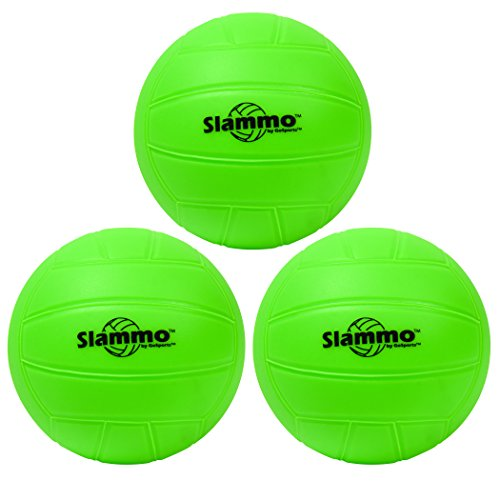 (GoSports Slammo Competition Ball 3-Pack | Works for All Roundnet)