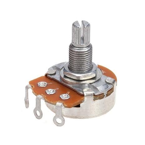 A500k Ohm Audio Potenciómetro de Volumen de La Guitarra: Amazon.es: Industria, empresas y ciencia