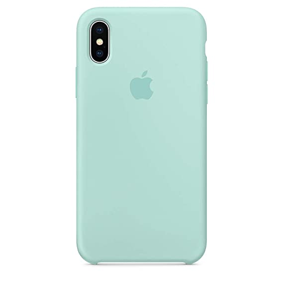 quality design f8e7d 14539 iPhone x Silicone case,Dawsofl Soft Liquid Silicone Case Cover Shell for  Apple iPhone x/10 5.8inch 2017 Release Boxed- Retail Packaging (Marine  Green)