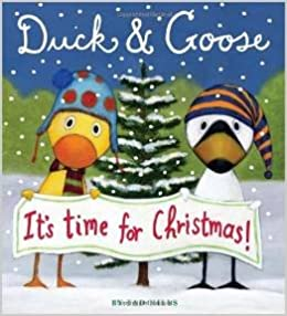 Duck and Goose: It's Time for Christmas Book Cover