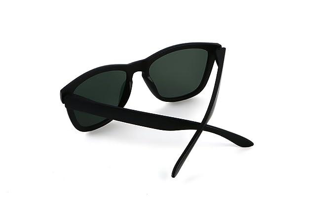 EliBella coloridas polarizadas para los mujeres y hombres UV400 gafas de sol de protección EL0717 (Dark Green): Amazon.es: Ropa y accesorios