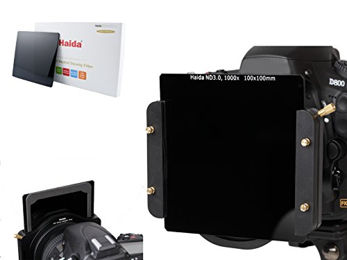 Haida 100mm ND 1000 Optical Glass Neutral Density 3.0 ND Filter 100 Cokin Z Compatible 10 stop