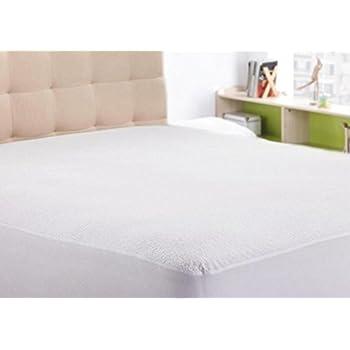 waterproof mattress protector rv king 15 inchpocket depth white solid anti