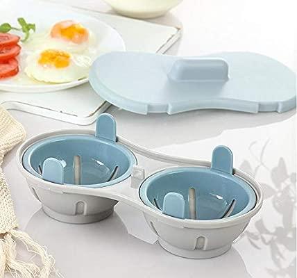 Yuaer Omelet de 2 cavidades, microondas, Doble Taza, Silicona con ...