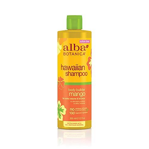 Alba Botanica Body Builder Mango Hawaiian Shampoo, 12 oz.