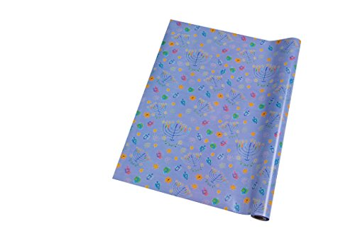 Wrapping Paper Hanukkah Two Rolls 30 Square Feet Each