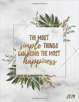the most simple things can bring the most happiness weekly