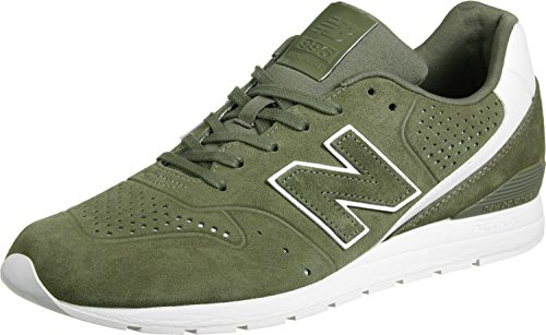 New Balance Herren 996 Leather Sneaker khaki / weiß