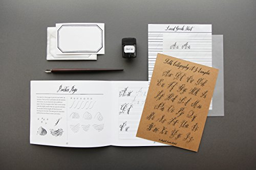 Belle-Calligraphy-Kit-Materials-and-Instruction-for-Modern-Script