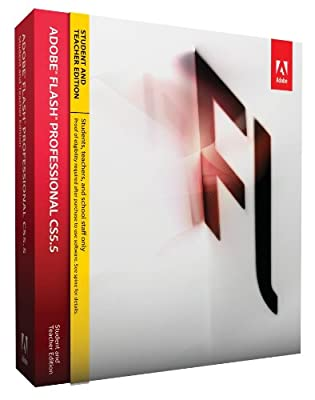 Amazon.com: Adobe Flash Pro CS5.5 Student and Teacher Edition ...