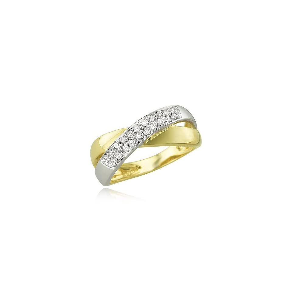 14K YELLOW GOLD Diamond Ring Diamond quality A (I1 I2 clarity, H I color)