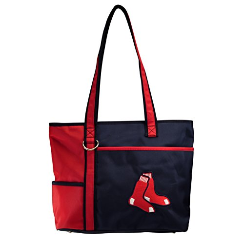 (MLB Boston Red Sox Womens Tote Bag with Embroidered Logo by Little Earth)