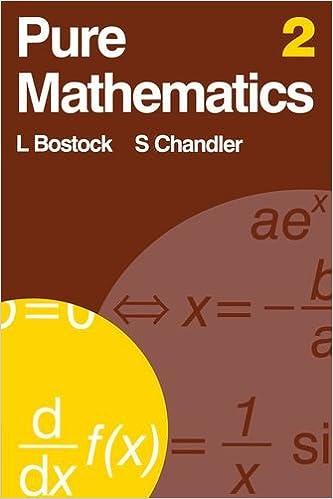 Amazon com: Pure Mathematics 2 (v  2) (9780859500975): L Bostock