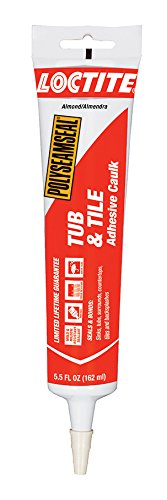 Loctite Polyseamseal Almond Tub and Tile Sealant, 5.5-Fluid Ounce Squeeze Tube (2138418)