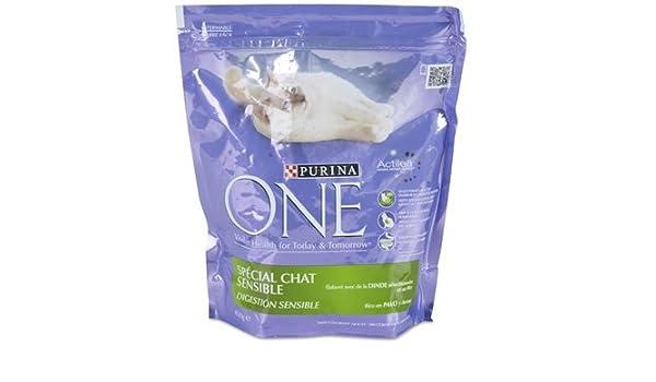 Purina - p04275082 - One gato comida sensible a la DINDE para ...
