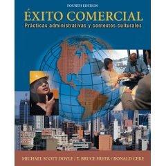 Exito Comercial: Practicas Administrativas y Contextos Culturales- Text Only