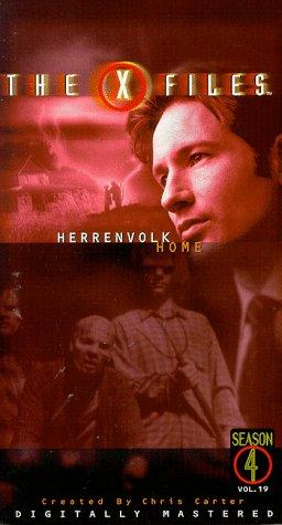 The X-Files: Herrenvolk/Home [VHS]