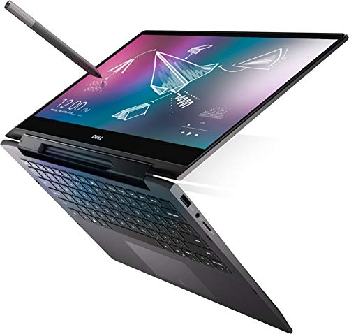"Inspiron 7000 7590 2-in-1 15.6"" Black Edition 4K UHD Touch-Screen Laptop 8th Gen i7-8565U Optane Accelerated SSD FP Reader Active Pen Plus Best Notebook Stylus Pen Light (512GB SSD|16GB RAM|10 PRO)"