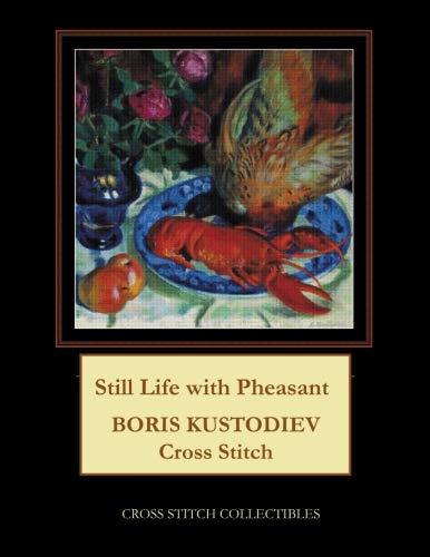 Still Life with Pheasant: Boris Kustodiev Cross Stitch Pattern