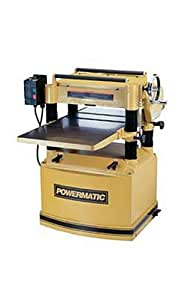Powermatic 1791296 Model 209 20-Inch 5-Horsepower Planer, 230-Volt 1-Phase