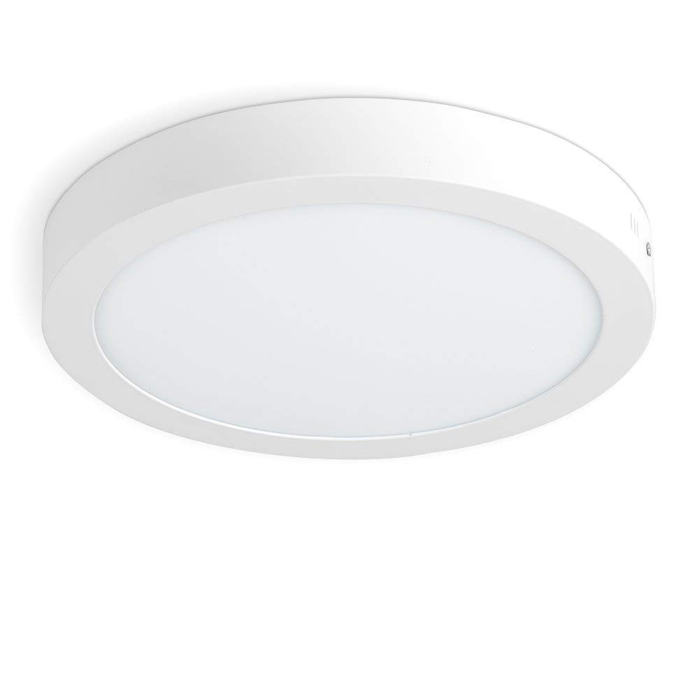 Tech Traders Surface Mounted Led Panel Light Ceiling Downlight Lamp Circular 18w 1450 Lumen Cool White Commercial Quality Led Driver Inside The Panel Light 2years Unlimited Warranty Buy Online In Dominica At