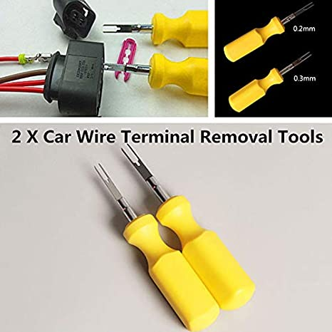 Brilliant Lets Dream 2X 3Mm 2Mm Electrical Terminal Removal Tool Car Wiring Digital Resources Inamapmognl