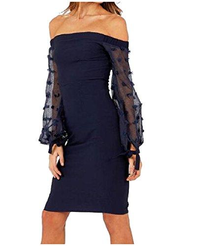 Strapless Knee As1 Style Length Coolred Womens Dress Long Zipper Sleeve wq1g5U1