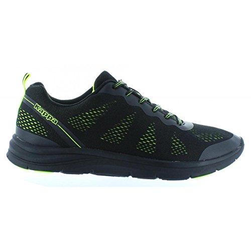 Chaussures de sport pour Homme et Femme KAPPA 303N9K0 CAMMER 928 BLACK-LIME GREEN