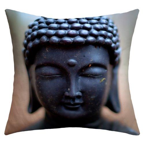 Deny Designs Bird Wanna Whistle Buddha Outdoor Throw Pillow, 20 x 20