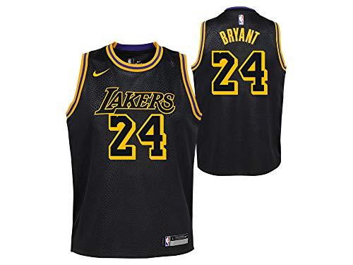 Nike Men's Los Angeles Lakers Kobe Bryant Dri-FIT City Edition Swingman Jersey (X-Large)
