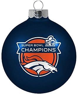 Denver Broncos Replica Football Ornament