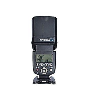 YONGNUO YN560 Ⅳ 2.4GHZ Flash Light Speedlite Wireless Transceiver Integrated for Canon Nikon Panasonic Pentax Camera